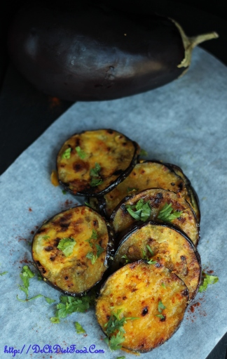 Sliced Aubergine 1