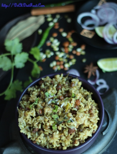 Mixed Sprouts Pulao2