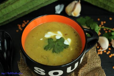 Ridge gourd Soup2
