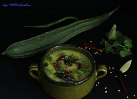Ridgegourd sambar1