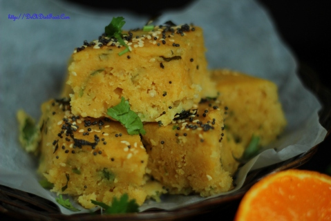 Orange Dhokla3