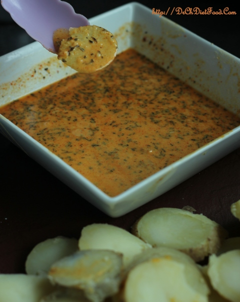 Potato slices on Tawa1
