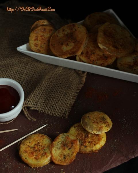 Potato slices on Tawa6